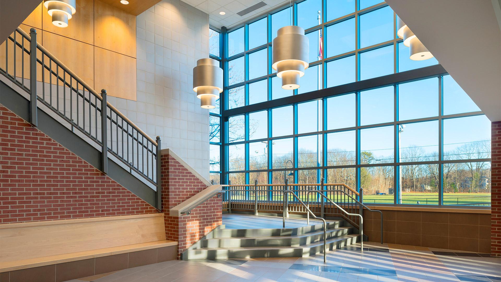 Biddeford High School Ledgewood Construction Portfolio