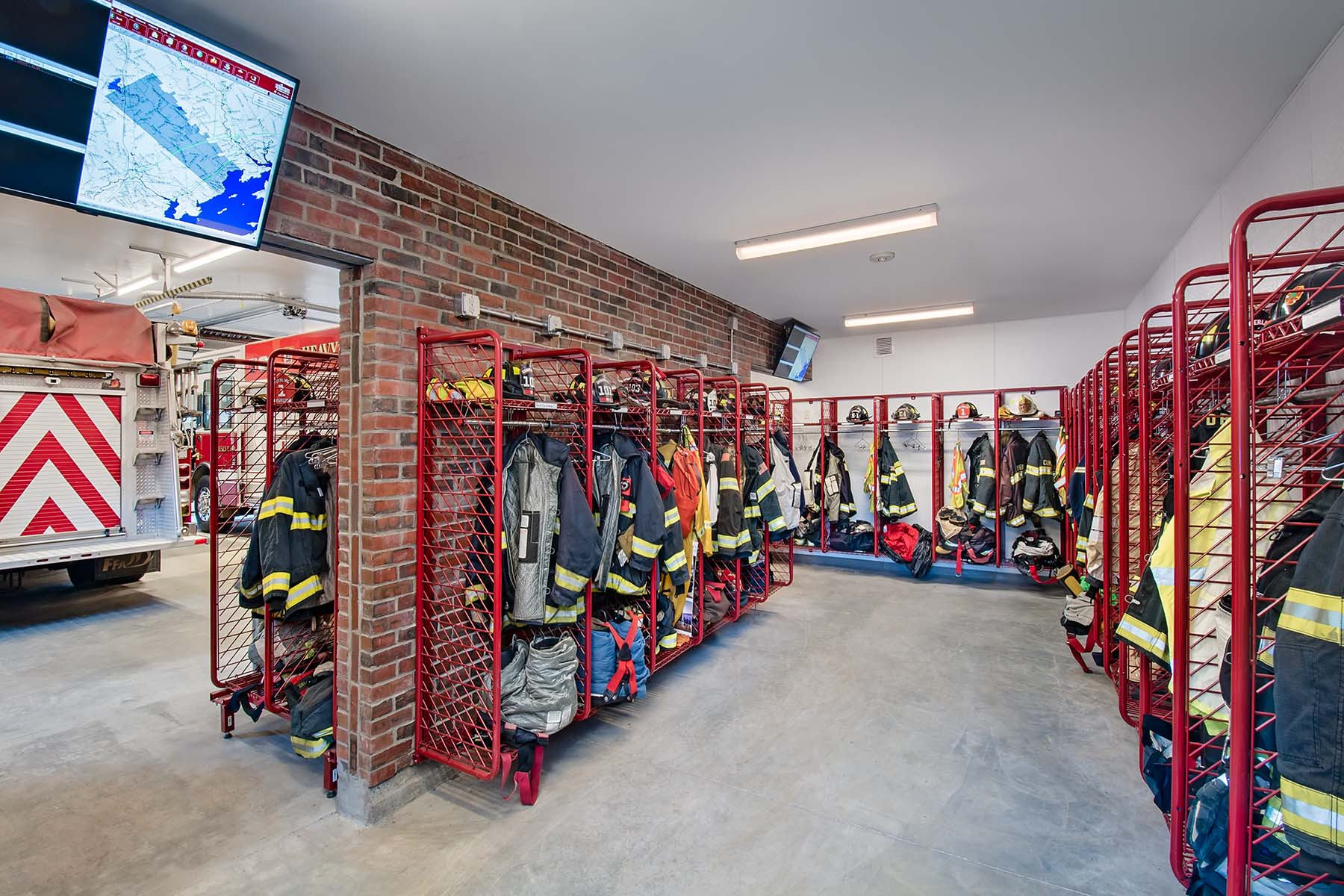 Cumberland Central Fire Station Project Details - Ledgewood