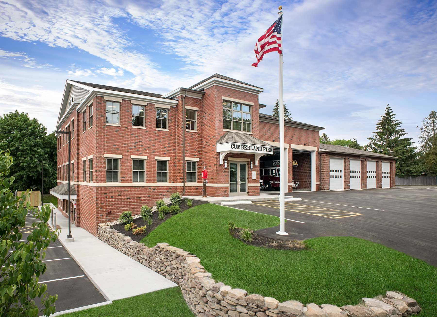 Cumberland Central Fire Station Project Details